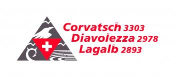 Dachlogo Corvatsch, Diavolezza & Lagalb seit Juni 2017