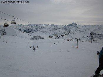 Abfahrt 6/8 an der Bergstation der Gondelbahn!