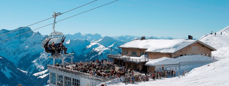 Bergstation Panoramaterrasse!