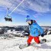 Park Snow liegt auf einer Höhe von 916 bis 1402 Meter.