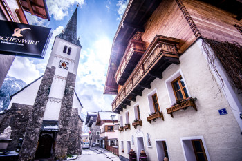 Der Ort Dorfgastein