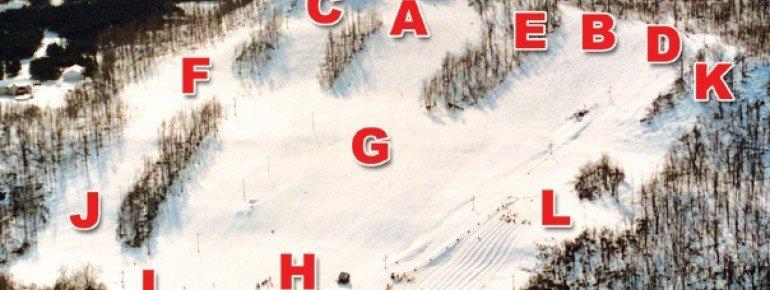 Pistenplan Dry Hill Ski Area
