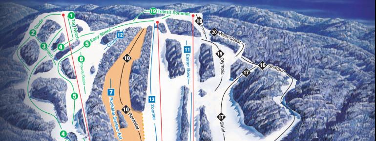 Pistenplan Edelweiss Ski Area
