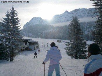An der Bergstation der Ehrwalder Almbahn!