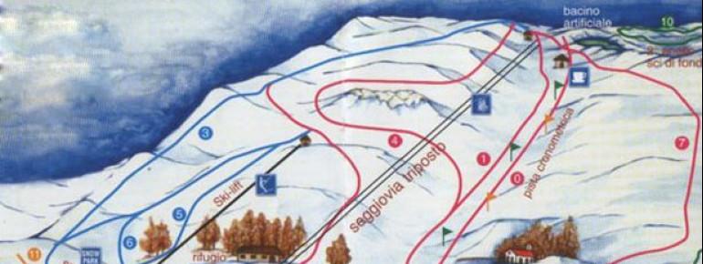 Pistenplan Eremo di Monte Carpegna