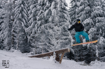 Spaß im Snowpark