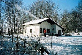 Die Skihütte des Ski-und Langlaufvereins in Ernstberg.