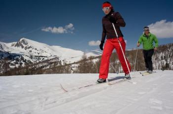 Nicht nur zum Skifahren bietet der Falkert perfekte Bedingungen auch unser Höhen-Loipe ist eine Runde wert!