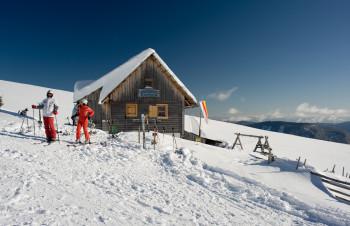 Gemütliche Hütten laden zur Einkehr direkt an der Piste!