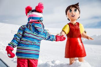Mit Heidi und ihren Freunden Skifahren lernen!