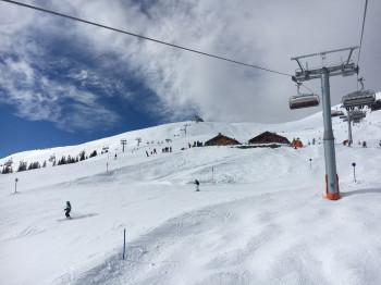 Das Skigebiet Fellhorn Kanzelwand eignet sich am Besten für Familien mit fortgeschrittenem Können.