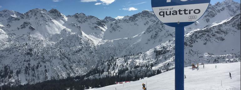 Von überall im Skigebiet hat man eine traumhafte Aussicht.