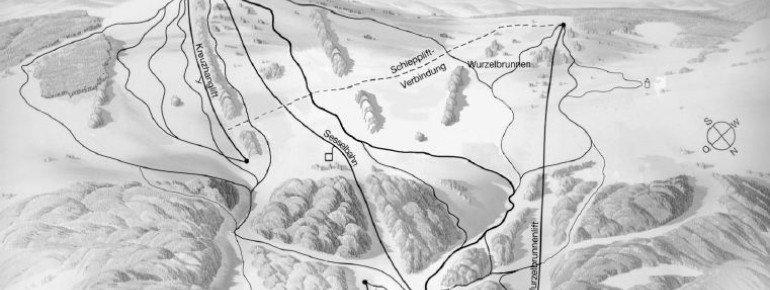 Pistenplan Feuerberg