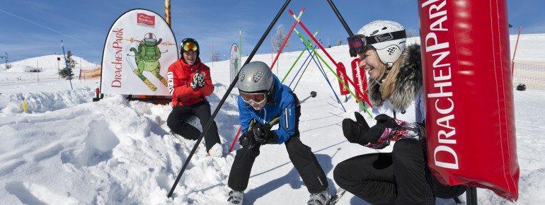 Skispaß im Drachenpark