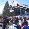 Wartezeiten an Knotenpunkten im Skigebiet sind nicht ausgeschlossen!