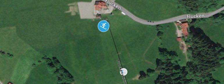 Pistenplan Fluckenlift