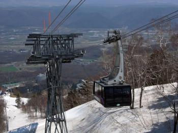 Furano ist eines der bekanntesten Skigebiete Japans.