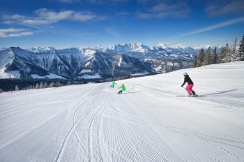 30 Pistenkilometer warten auf Wintersportler in Gaissau-Hintersee.