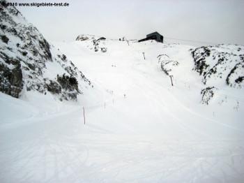 Blick auf das Restaurant Alpspitze am 2050m hohen Osterfelderkopf!
