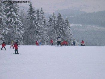 Verwunschene Winterlandschaft