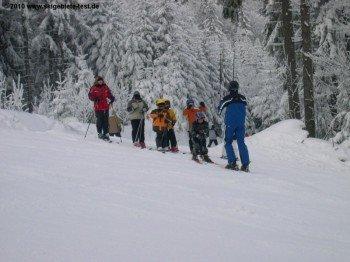 Das Skigebiet eignet sich besonders für Familien