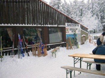 Die Geisskopfhütte steht auf 1097m Höhe