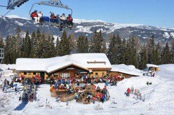 Zahlreiche Après Ski Möglichkeiten sorgen für gute Stimmung.