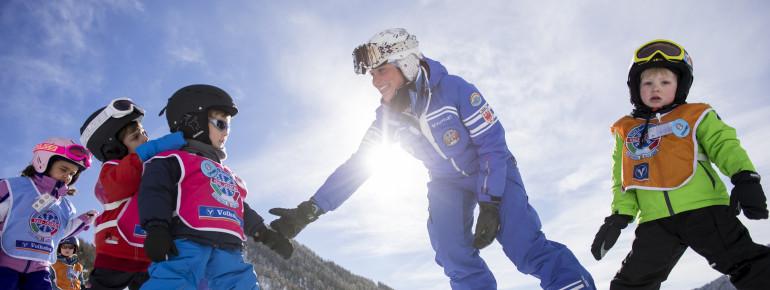 Unterricht Skischule