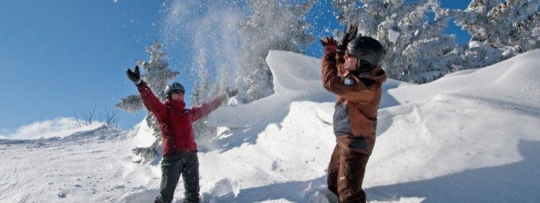 Schnee gibt es am Sportberg Goldeck genug.