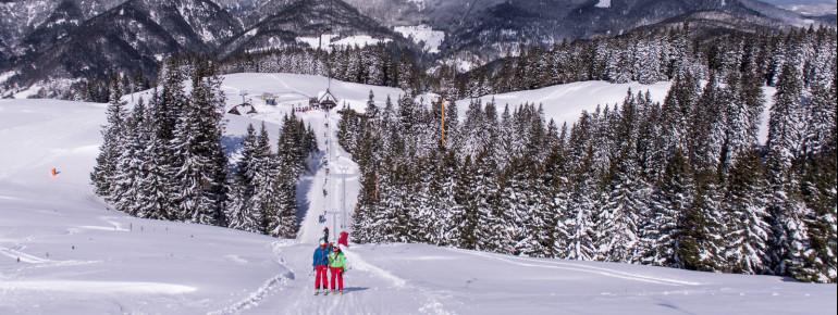 An der Talstation des Stari Stani-Schlepplifts befindet sich eine Hütte zum Einkehren.