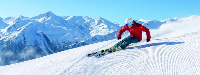Der Graukogel ist eines von vier Skigebieten im Gasteinertal.