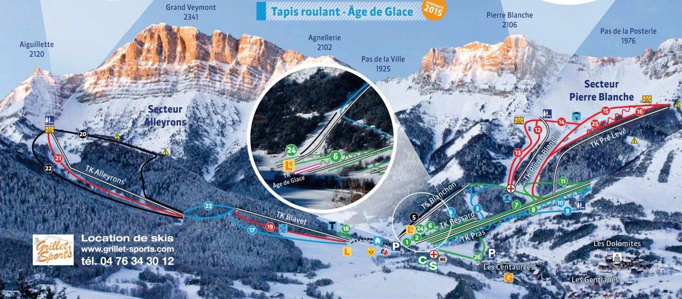 Skigebiet gresse en vercors skiurlaub skifahren - Office de tourisme de gresse en vercors ...