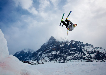 Freestyle in Grindelwald- First!