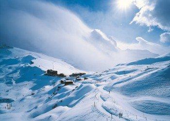 Die Kleine Scheidegg liegt auf 2.061 Metern.