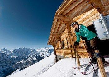 Sportliche Skifahrer sollten die Lauberhorn-Weltcupabfahrt nicht verpassen.