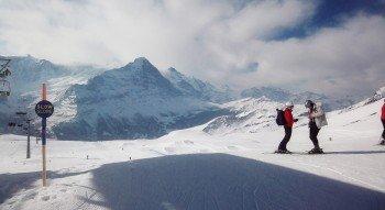 Max. 30km/h sind auf der Slow Slope Nr.1 am Oberjoch Lift erlaubt