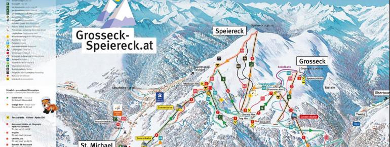 Pistenplan Grosseck Speiereck