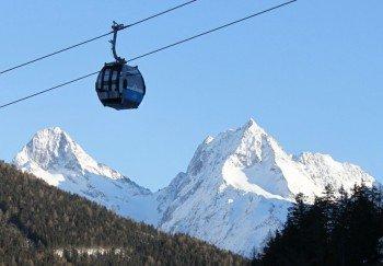 Skifahren vor beeindruckender Kulisse im Grossglockner Resort Kals Matrei