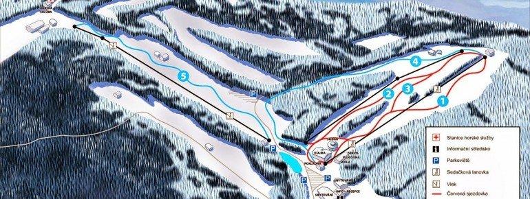 Pistenplan Grun Ski MSA