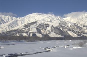 Hakuba Happo-One auf der Insel Honshu ist eines der größten und bekanntesten Skigebiete Japans.