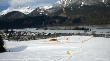 An der Talstation des Hauser Kaibling befindet sich das Übungsgelände.