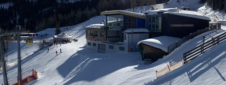 Bergstation der 8er Gondel