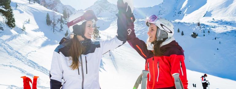 Freude am Skitag