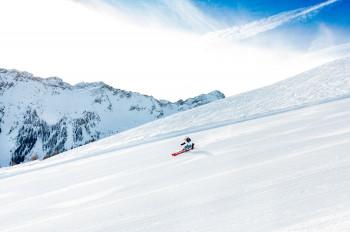 Beim Osthang die ganze Piste hinunterzudüsen ist der Traum jedes Skifahrbegeisterten.