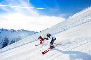 Der Gipfel-Osthang lässt das Herz eines jeden Skifahrers höher schlagen.