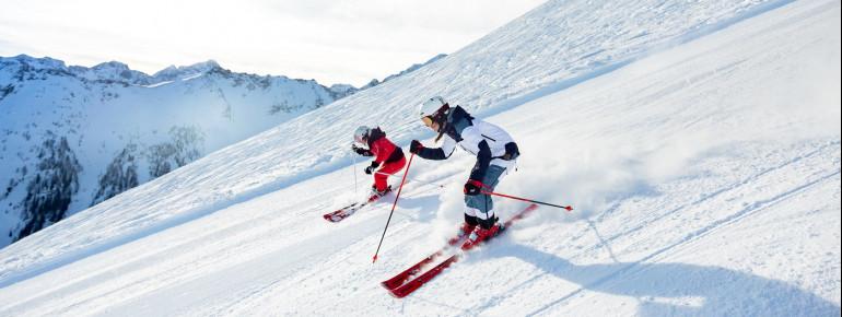 Weil skifahren zu zweit einfach mehr Spaß macht.