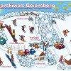 Pistenplan Skigebiet Geiersberg Hauzenberg
