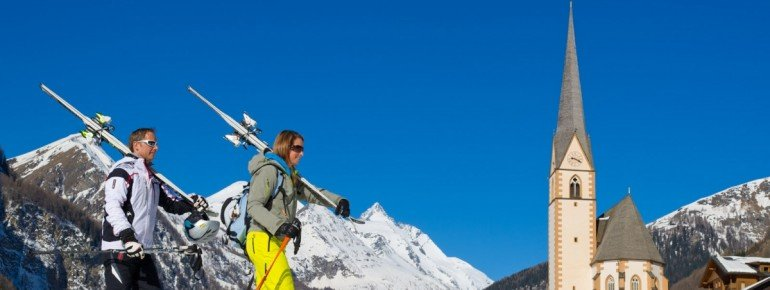 Skivergnügen mit Aussicht auf Österreichs höchsten Berg, den Großglockner!