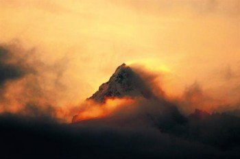 Der Großglockner ist mit 3.798 Metern der höchste Berg Österreichs.