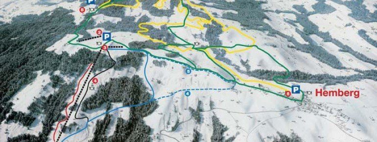 Pistenplan Hemberg